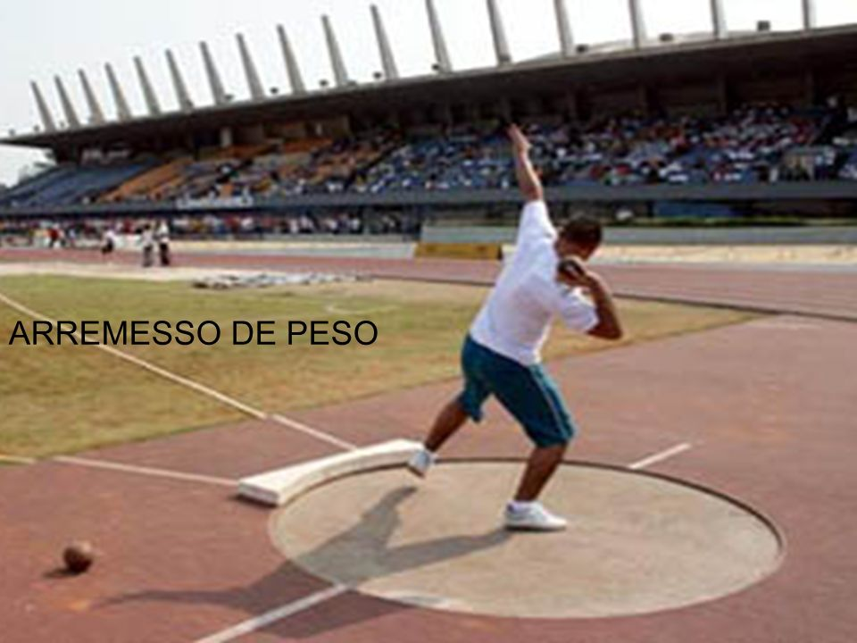 Jogos esportivos ARREMESSO DE PESO