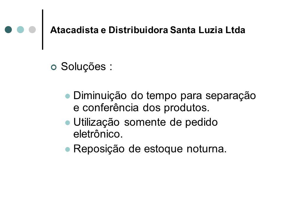 Atacadista e Distribuidora Santa Luzia Ltda