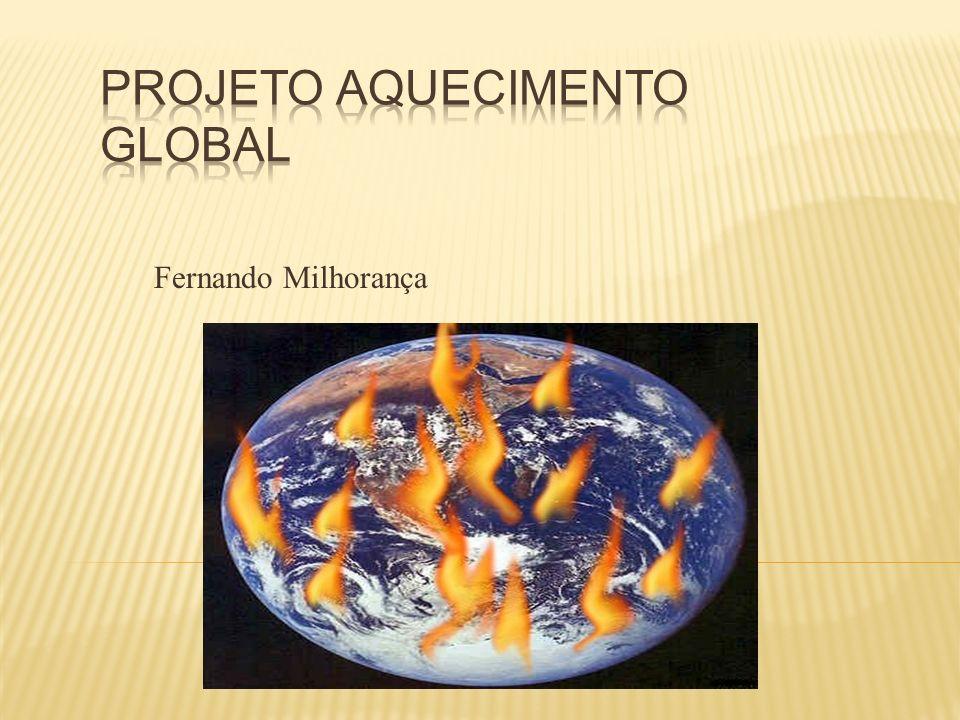 Projeto aquecimento Global