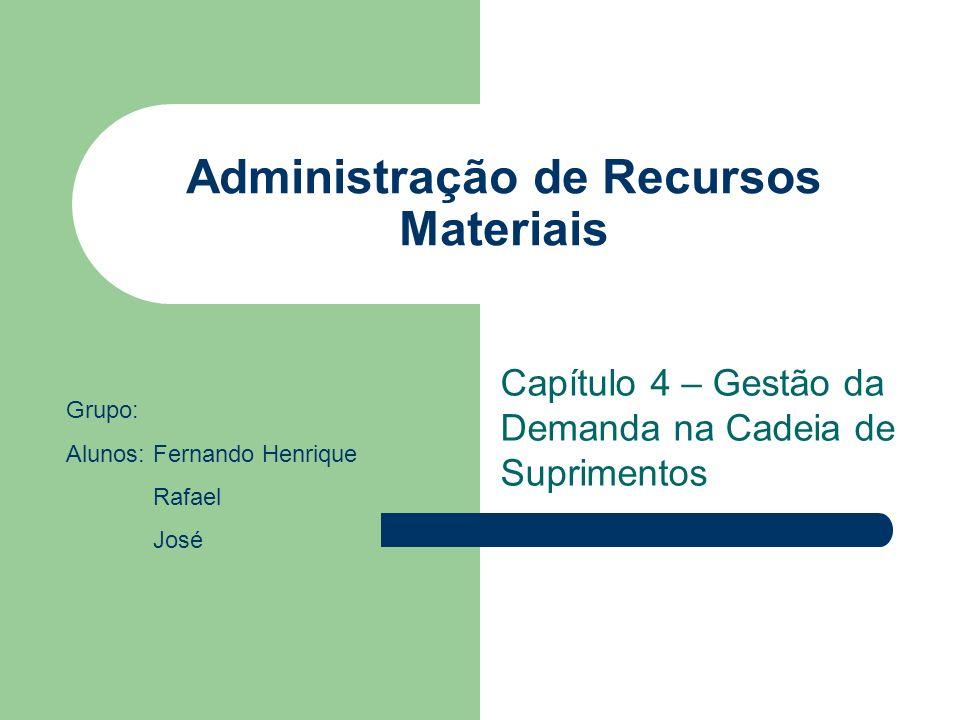 Administração de Recursos Materiais