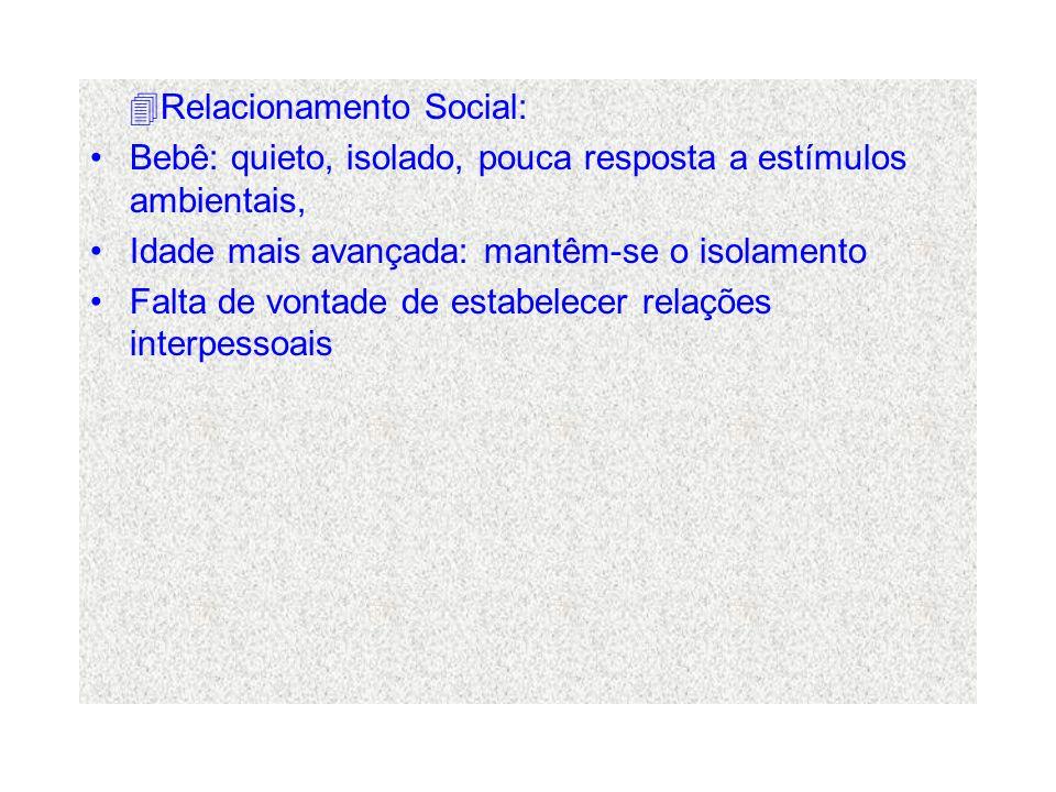Relacionamento Social: