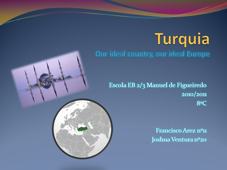 Turquia Our ideal country, our ideal Europe