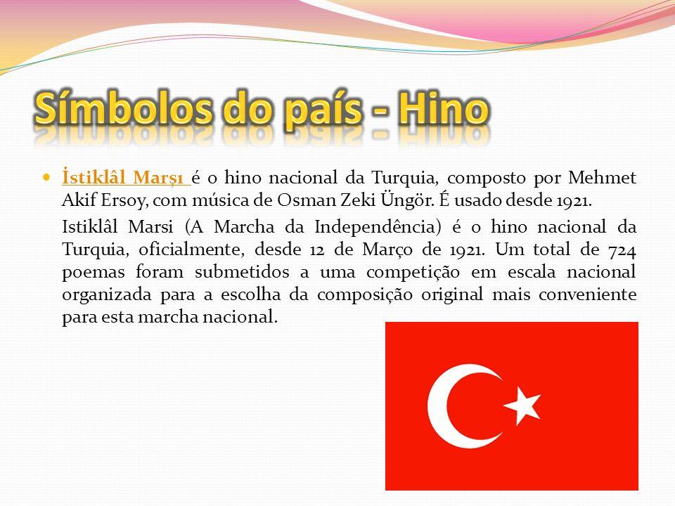 Símbolos do país - Hino