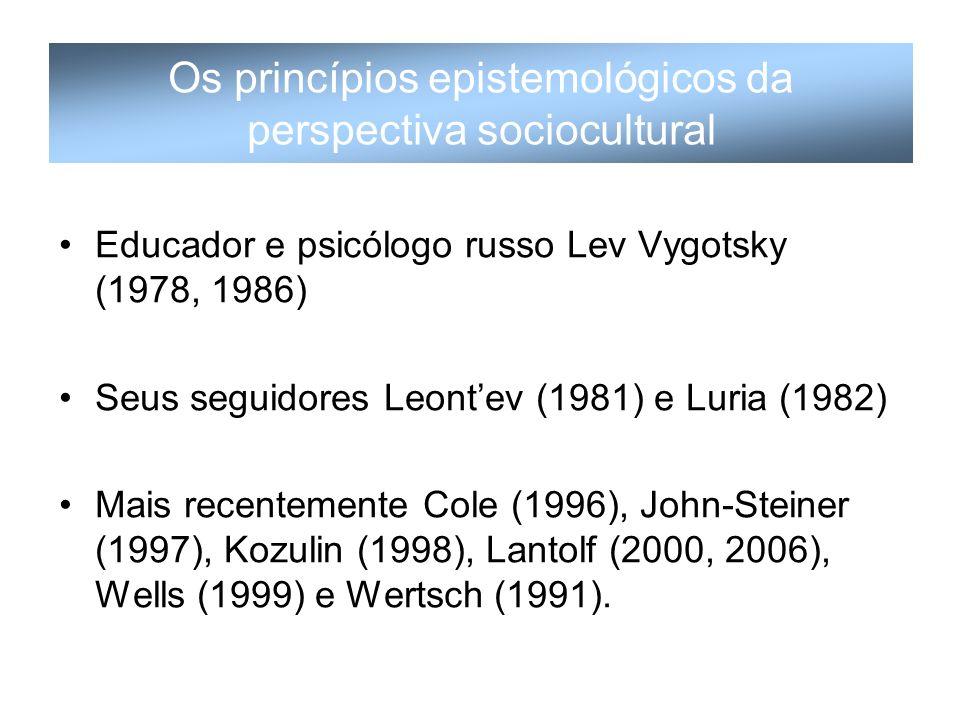 Os princípios epistemológicos da perspectiva sociocultural