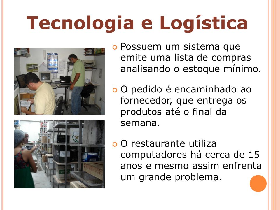 Tecnologia e Logística