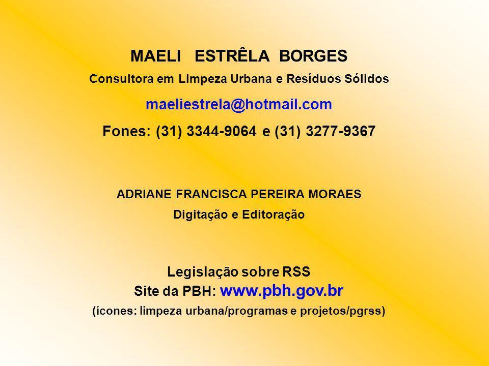 MAELI ESTRÊLA BORGES maeliestrela@hotmail.com