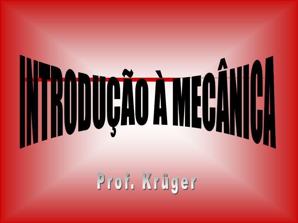 INTRODUÇÃO À MECÂNICA Prof. Krüger