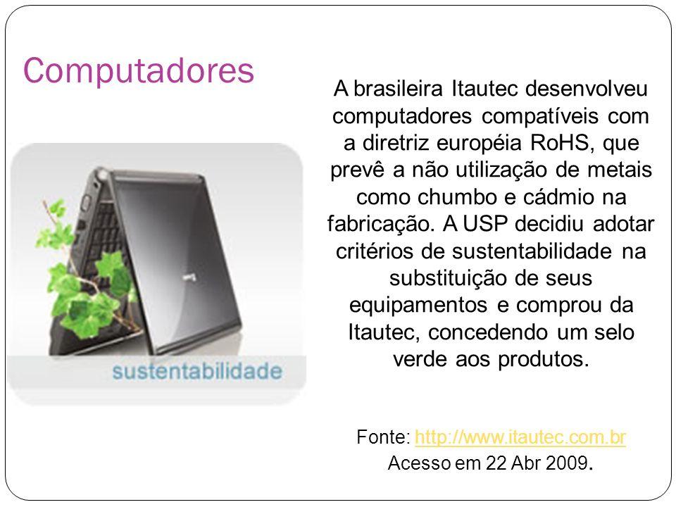 Fonte: http://www.itautec.com.br