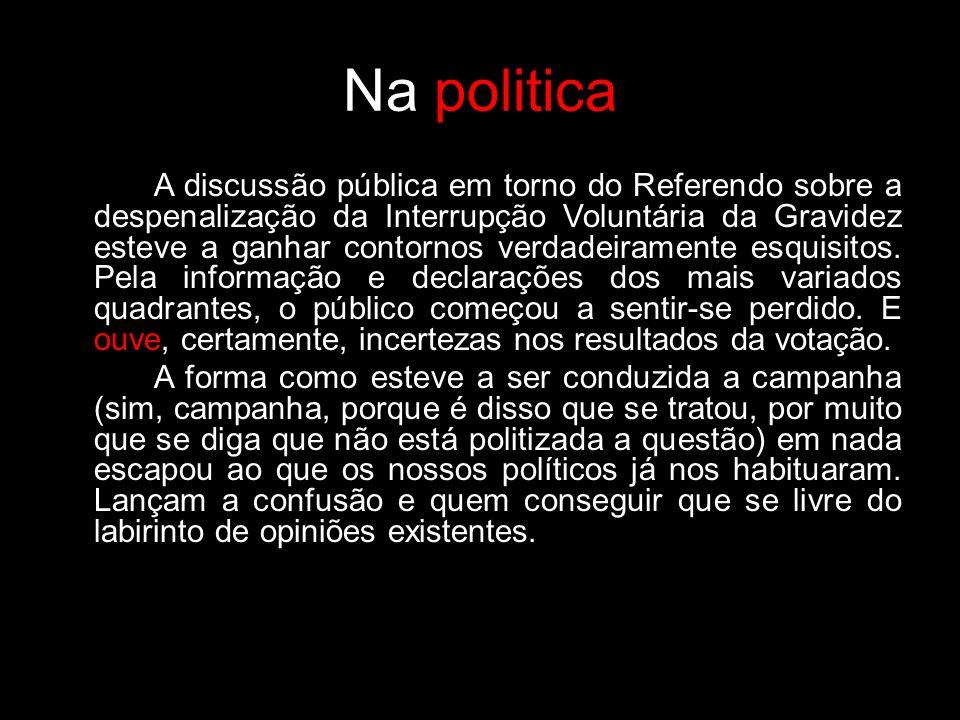 Na politica
