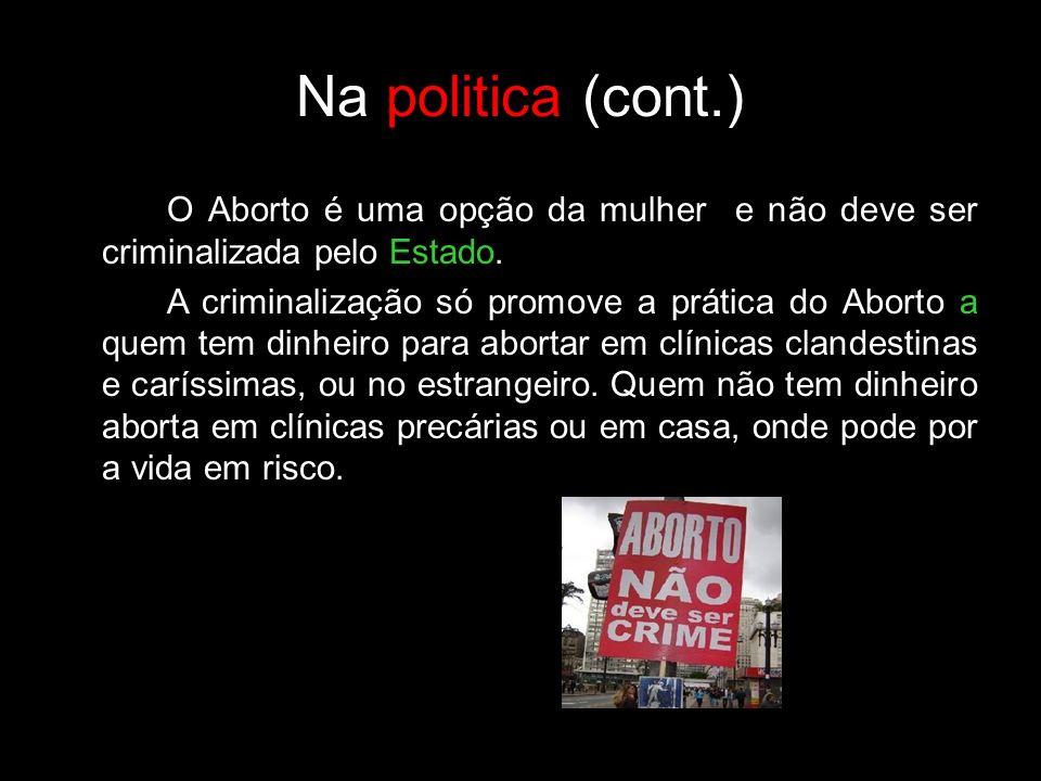 Na politica (cont.)