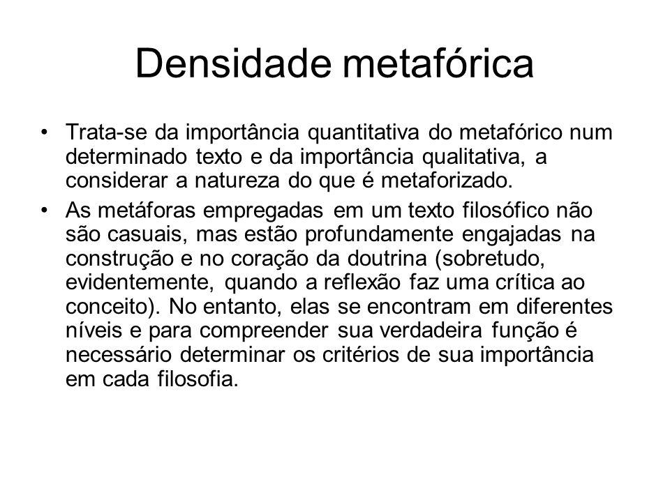 Densidade metafórica