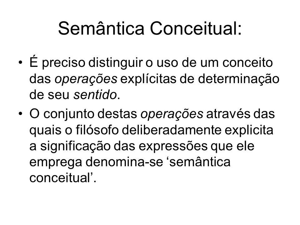 Semântica Conceitual: