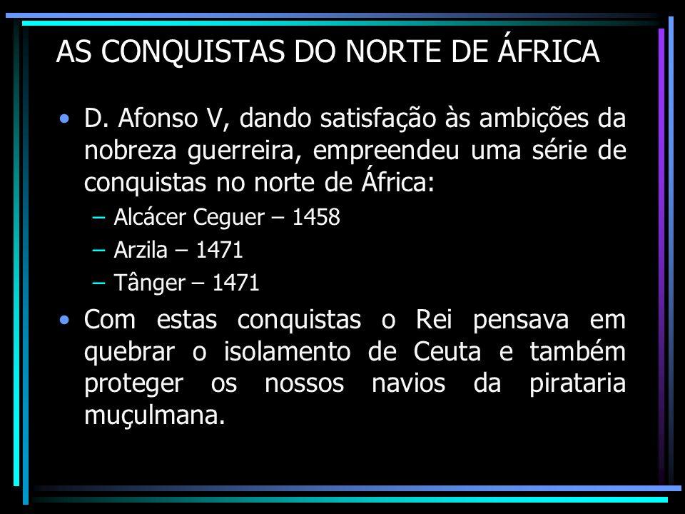 AS CONQUISTAS DO NORTE DE ÁFRICA