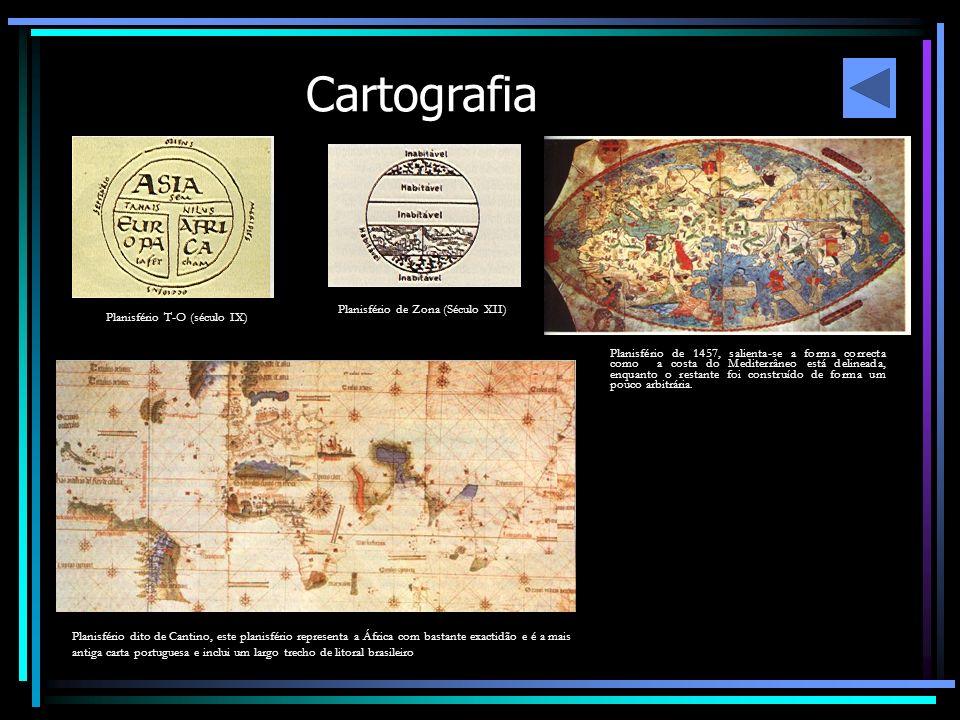Cartografia Planisfério de Zona (Século XII)