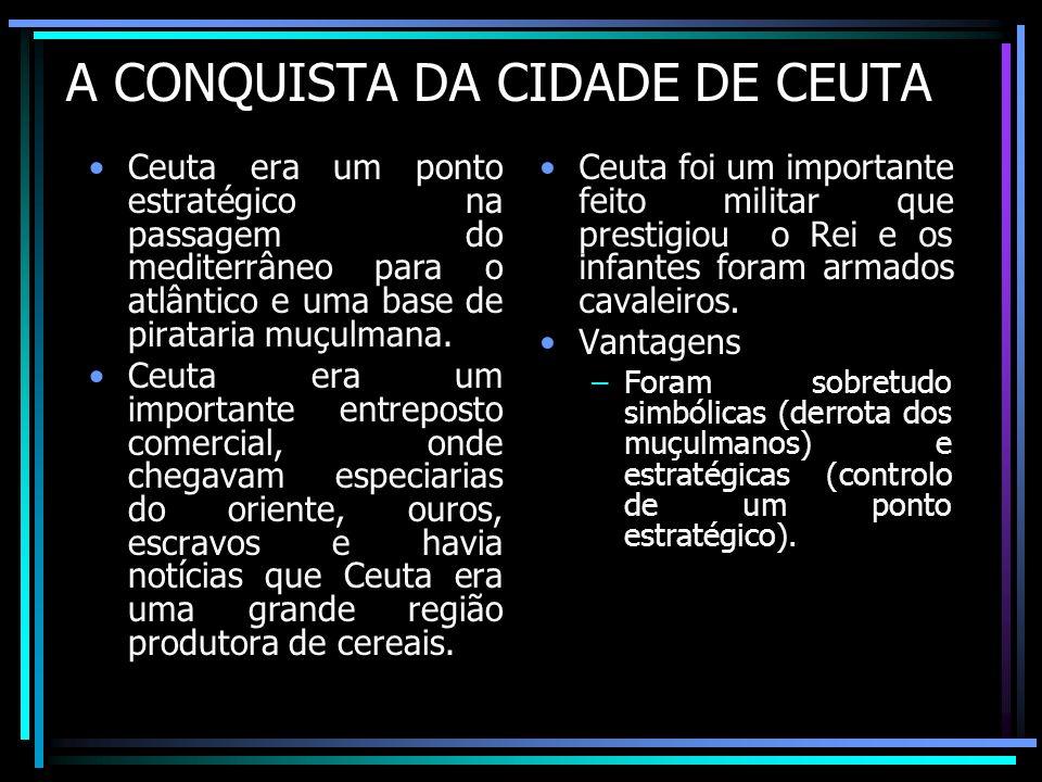 A CONQUISTA DA CIDADE DE CEUTA