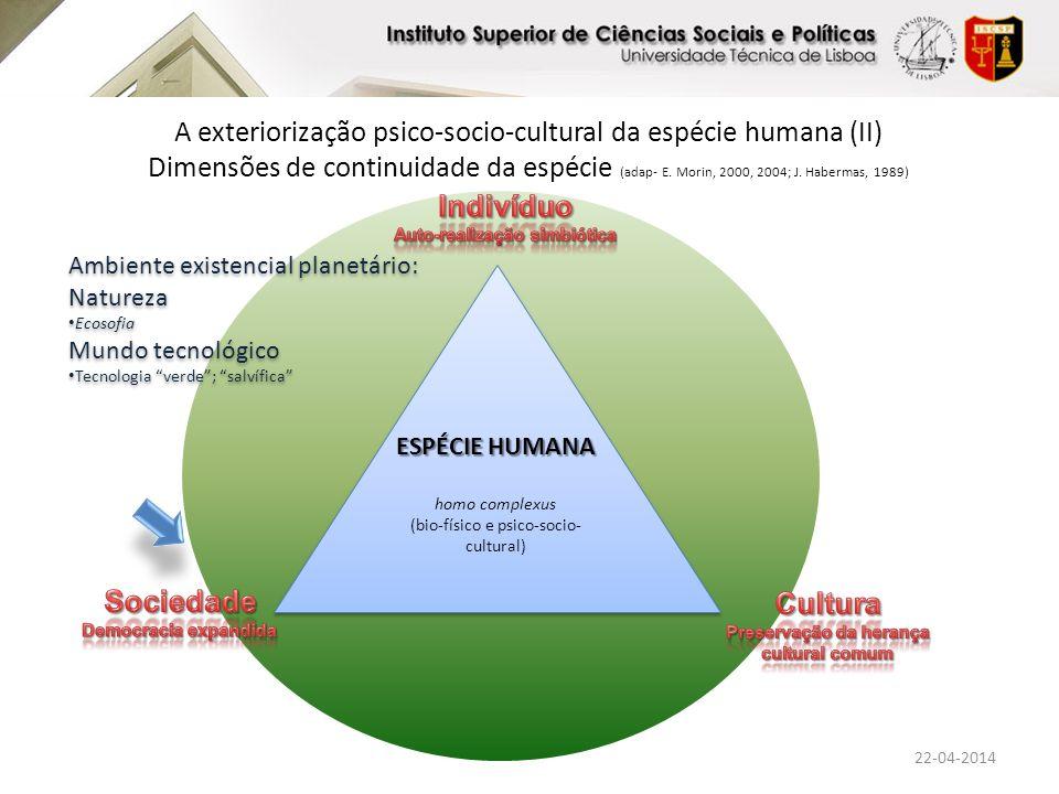 Auto-realização simbiótica Preservação da herança cultural comum