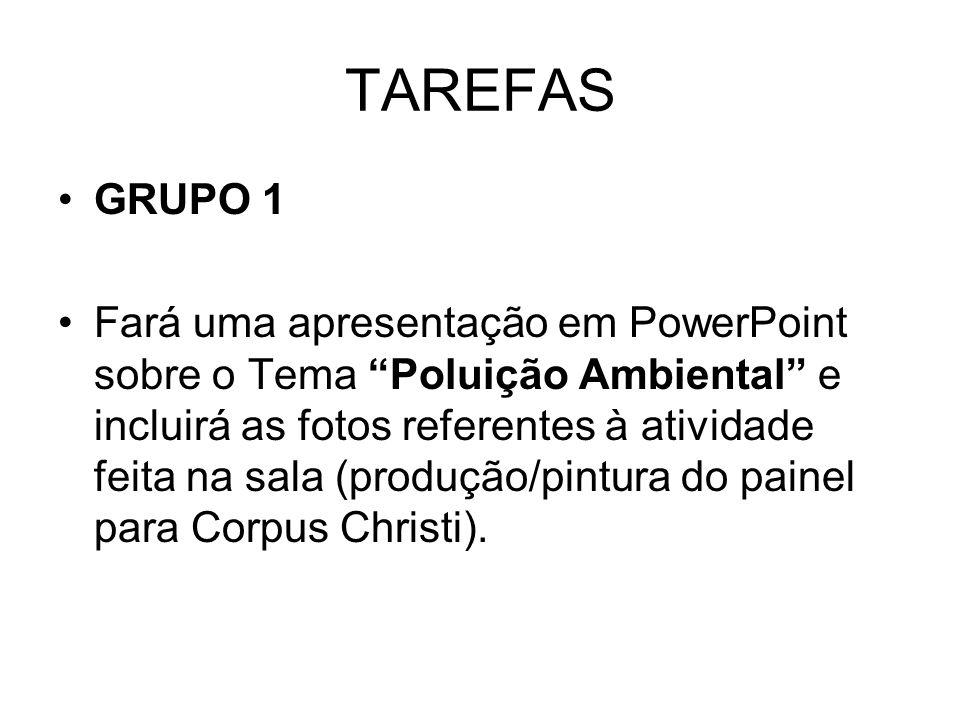 TAREFAS GRUPO 1.