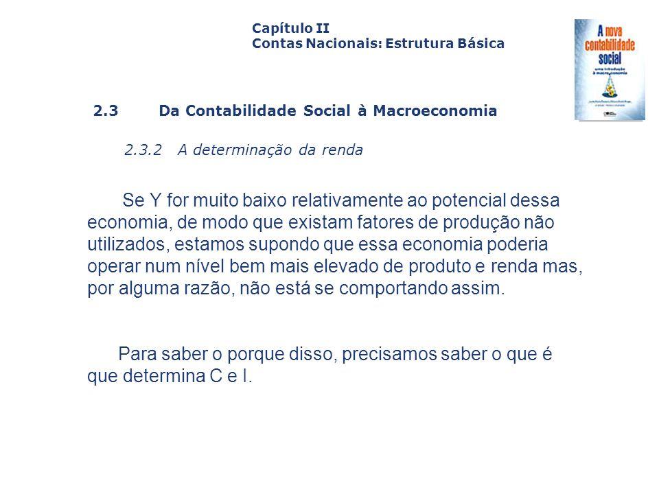 2.3.2 A determinação da renda