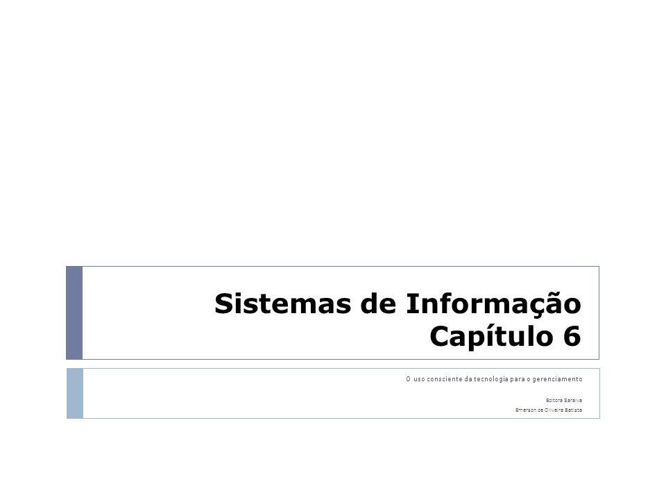 Sistemas de Informação Capítulo 6