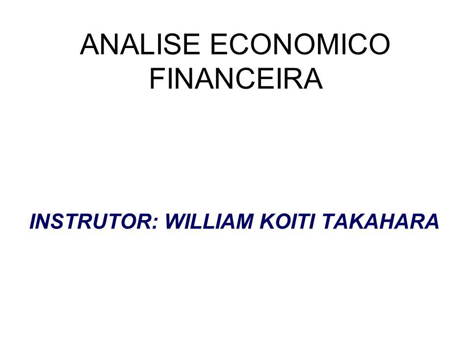 ANALISE ECONOMICO FINANCEIRA