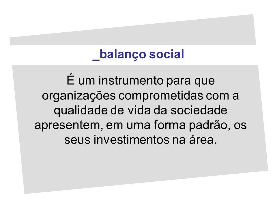_balanço social
