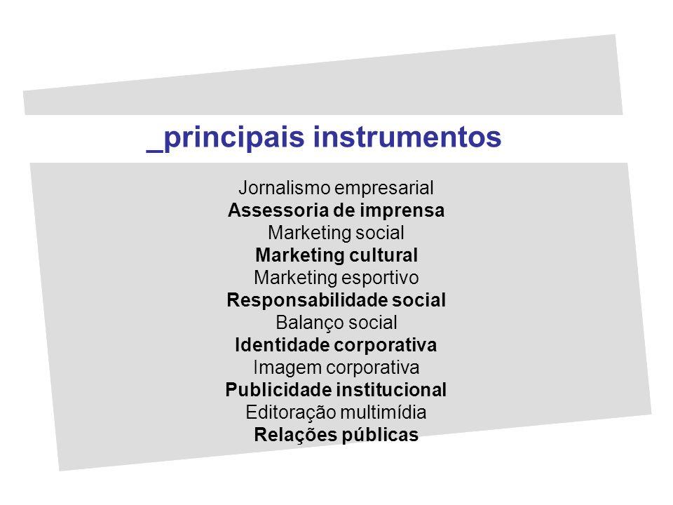 _principais instrumentos