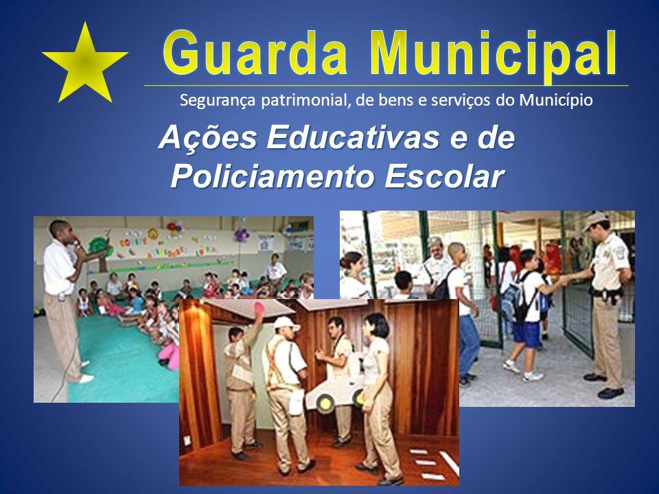 Ações Educativas e de Policiamento Escolar