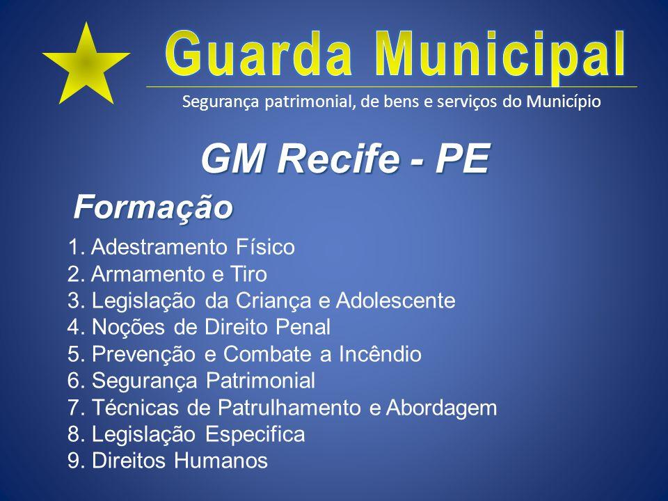 GM Recife - PE Formação.