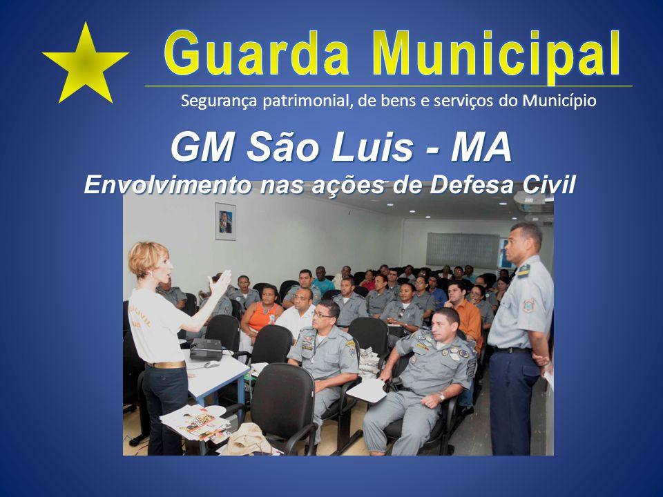 Envolvimento nas ações de Defesa Civil