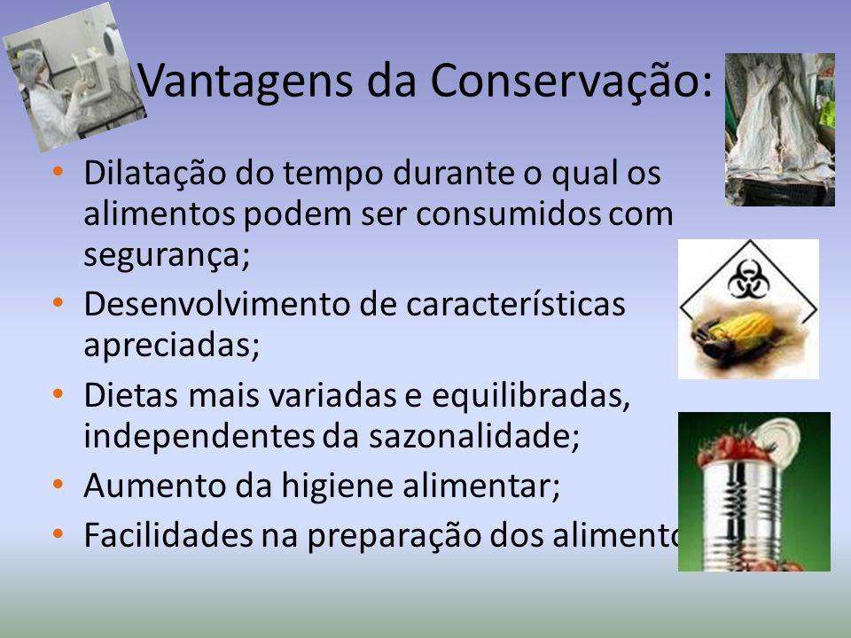 Vantagens da Conservação: