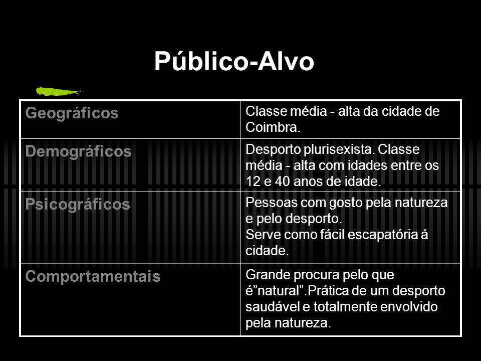 Público-Alvo Geográficos Demográficos Psicográficos Comportamentais