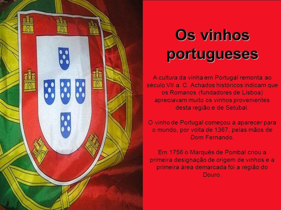 Os vinhos portugueses