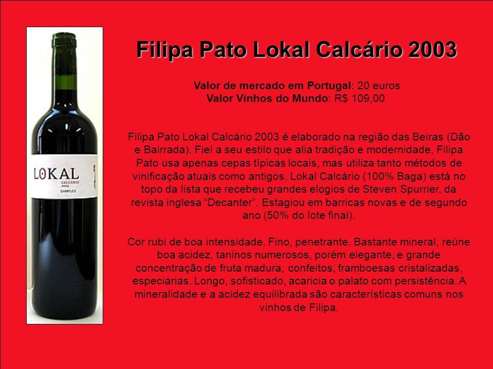 Filipa Pato Lokal Calcário 2003