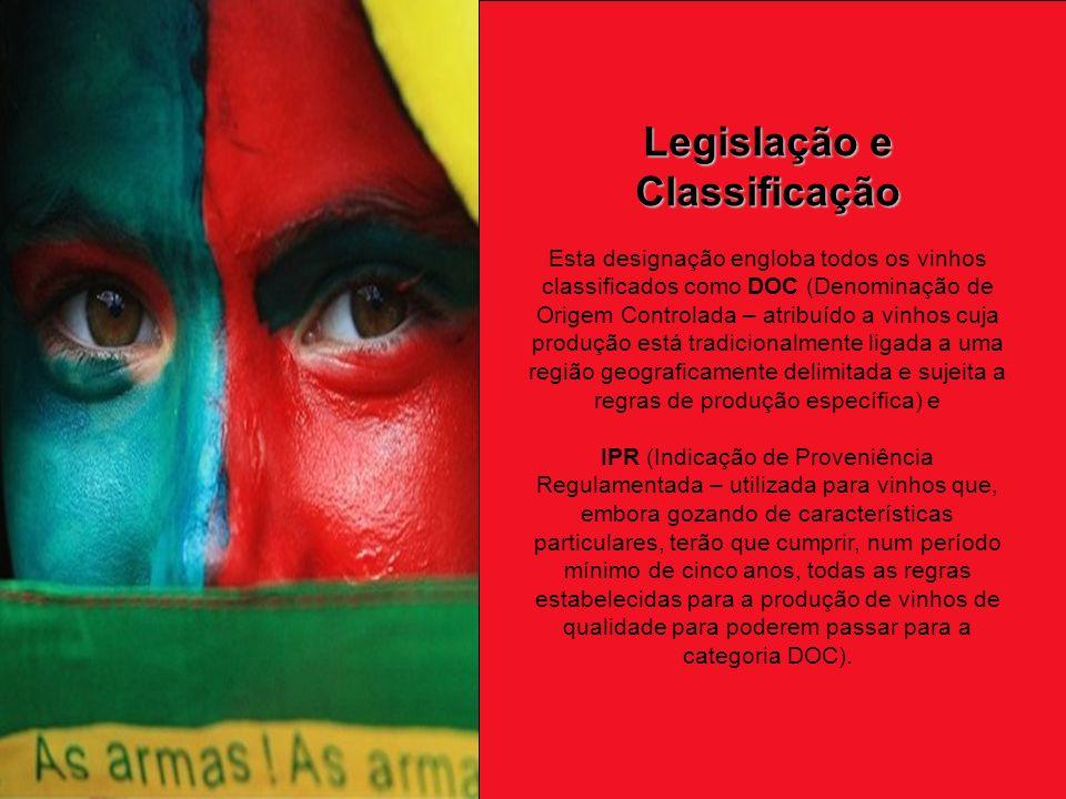 Legislação e Classificação