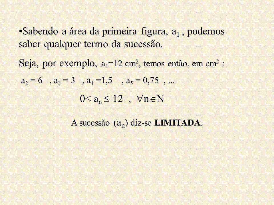 A sucessão (an) diz-se LIMITADA.