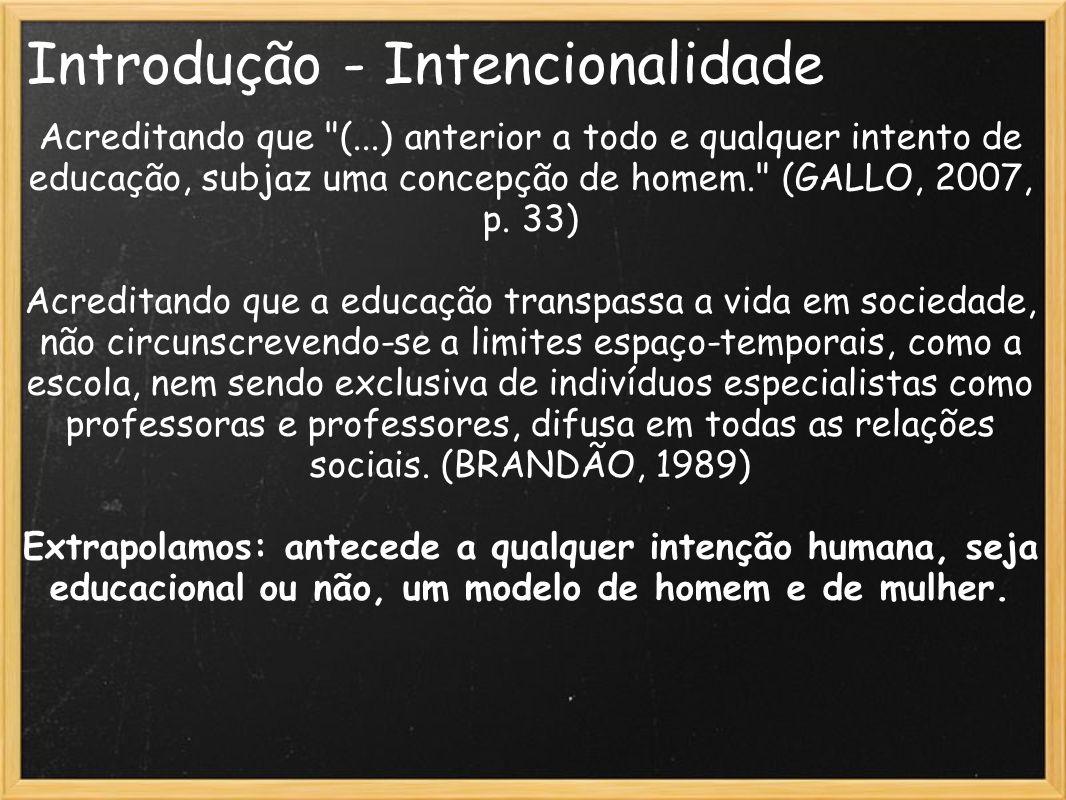 Introdução - Intencionalidade