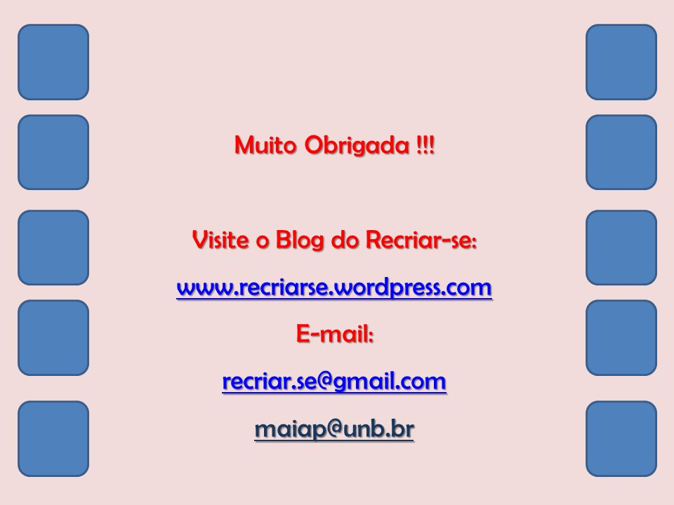 Visite o Blog do Recriar-se: