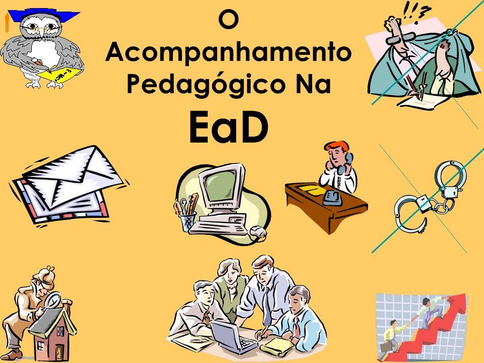 O Acompanhamento Pedagógico Na EaD
