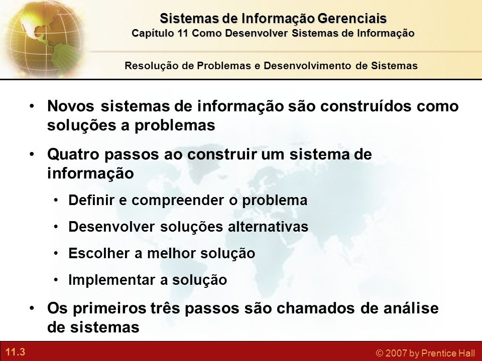 Resolução de Problemas e Desenvolvimento de Sistemas