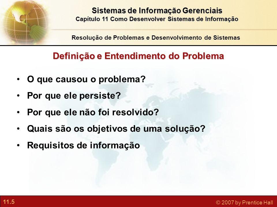 Definição e Entendimento do Problema