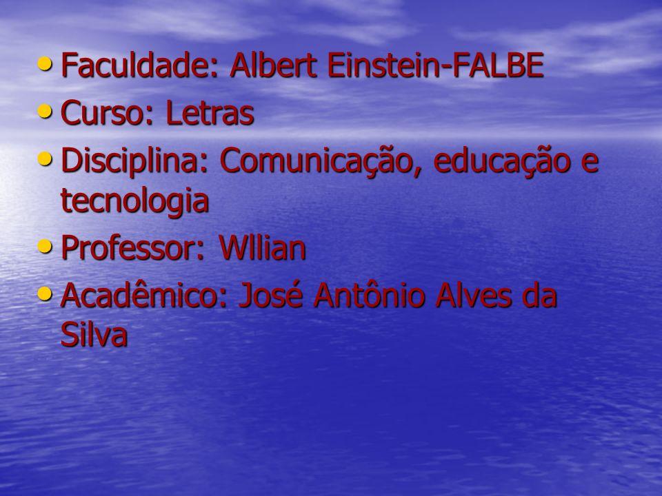 Faculdade: Albert Einstein-FALBE