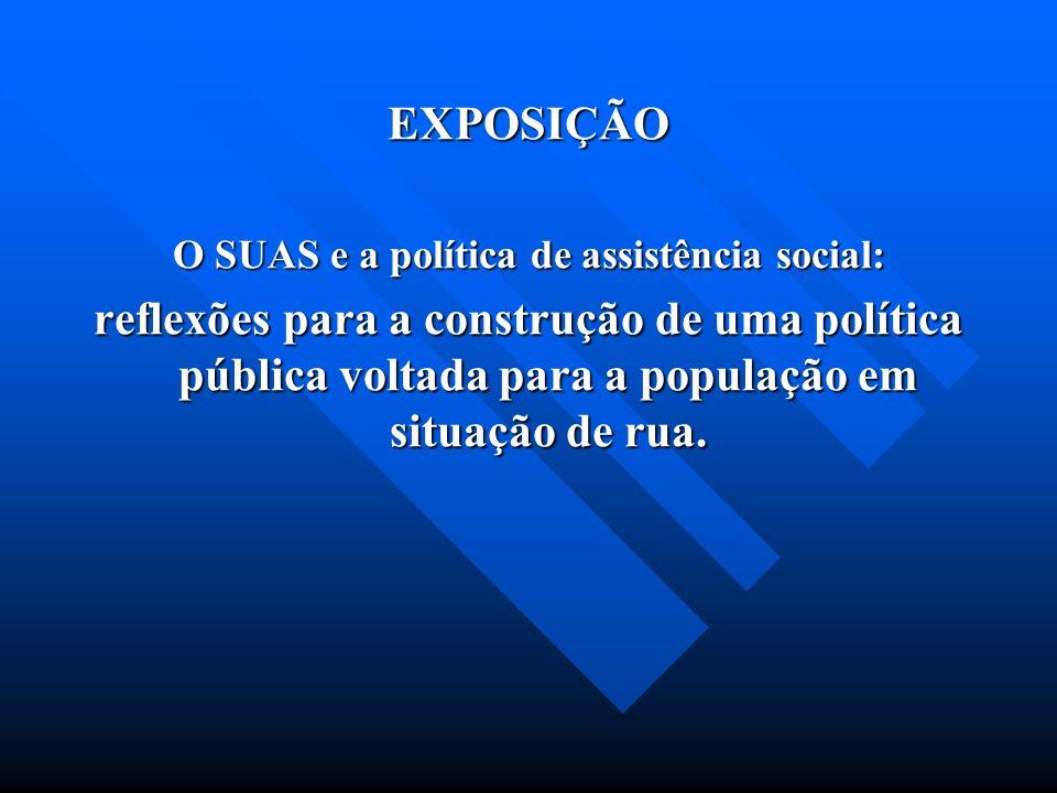 O SUAS e a política de assistência social: