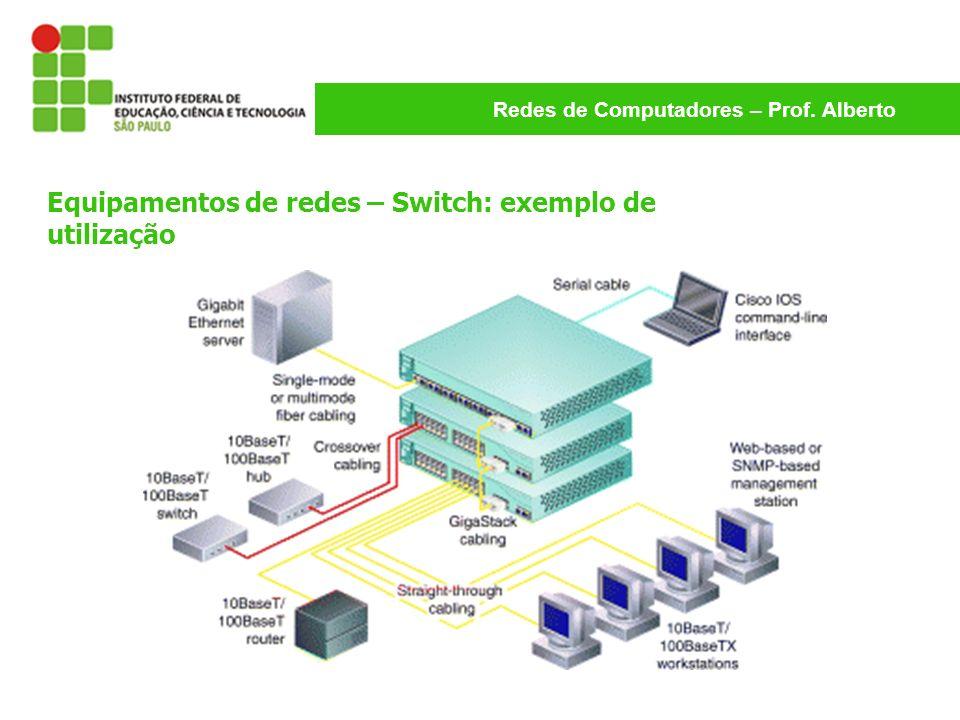 Equipamentos de redes – Switch: exemplo de utilização