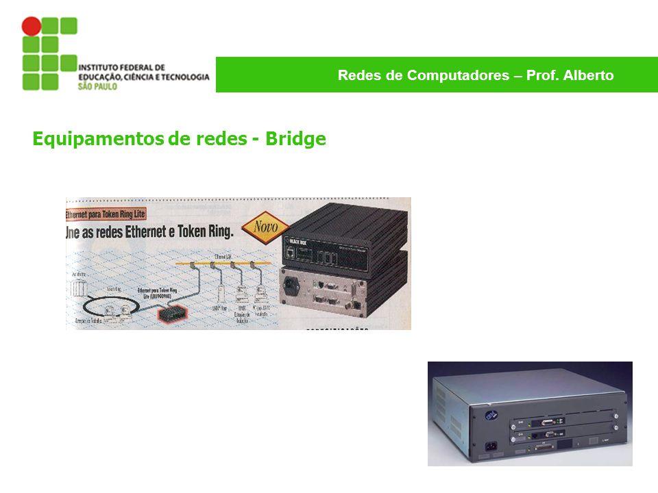 Equipamentos de redes - Bridge