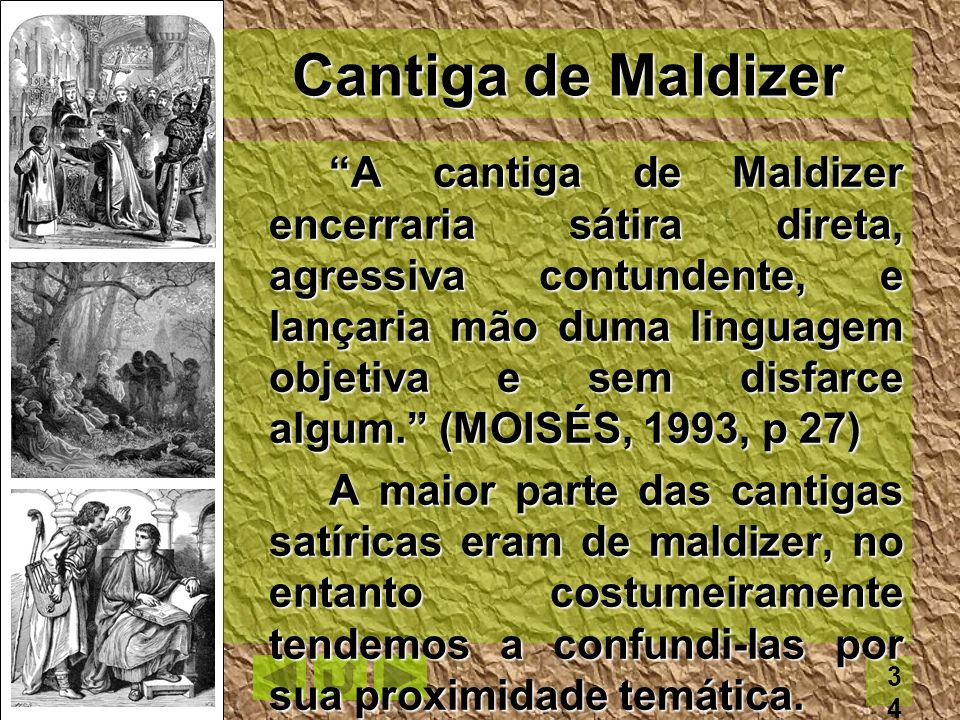 Cantiga de Maldizer