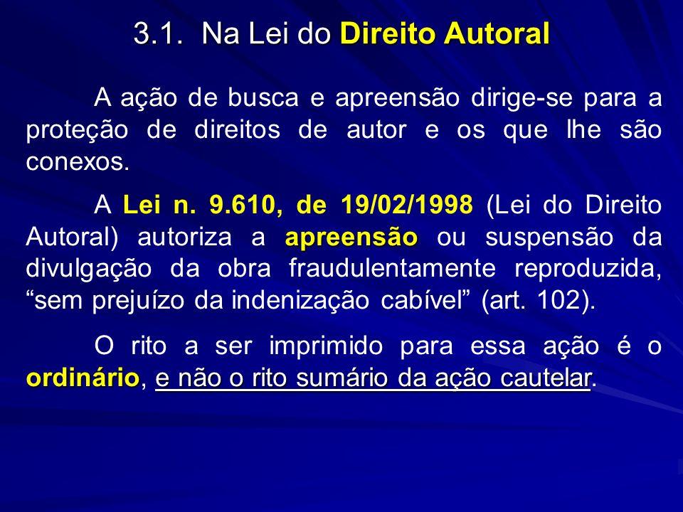 3.1. Na Lei do Direito Autoral