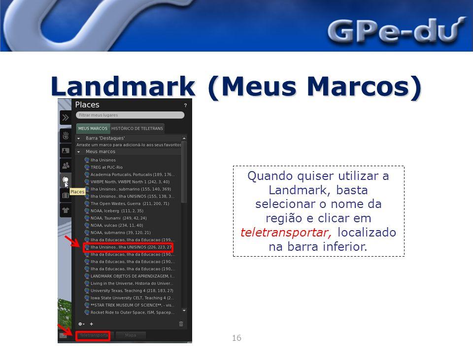 Landmark (Meus Marcos)