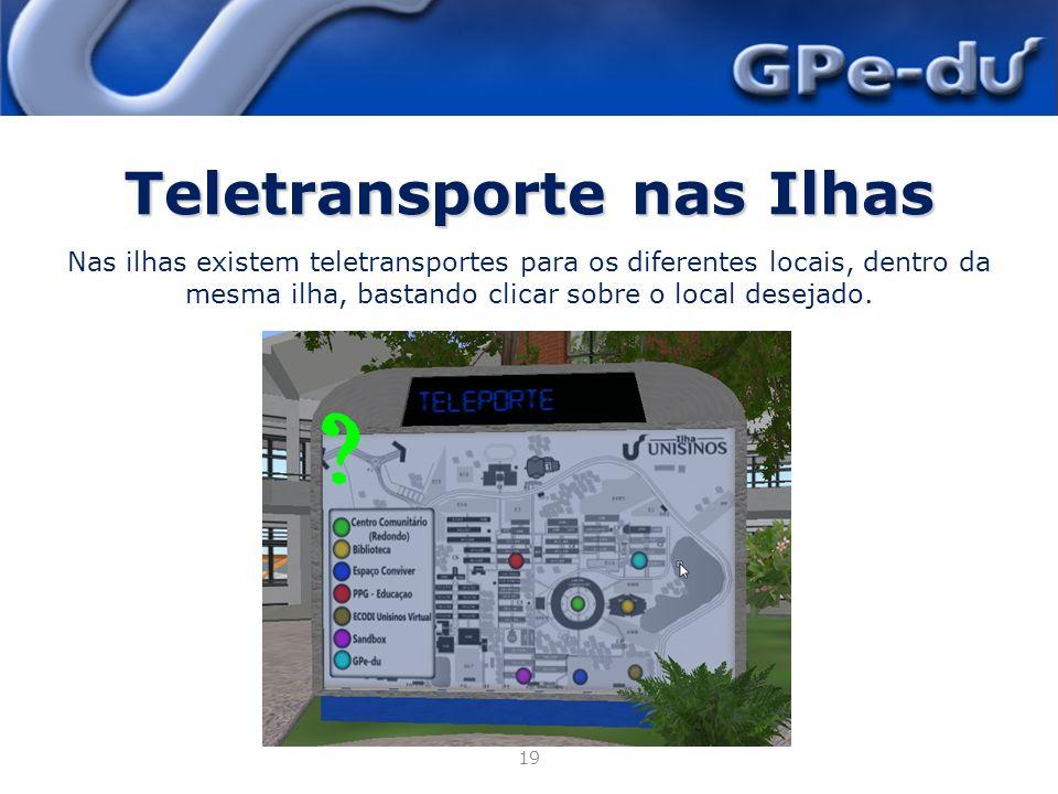 Teletransporte nas Ilhas