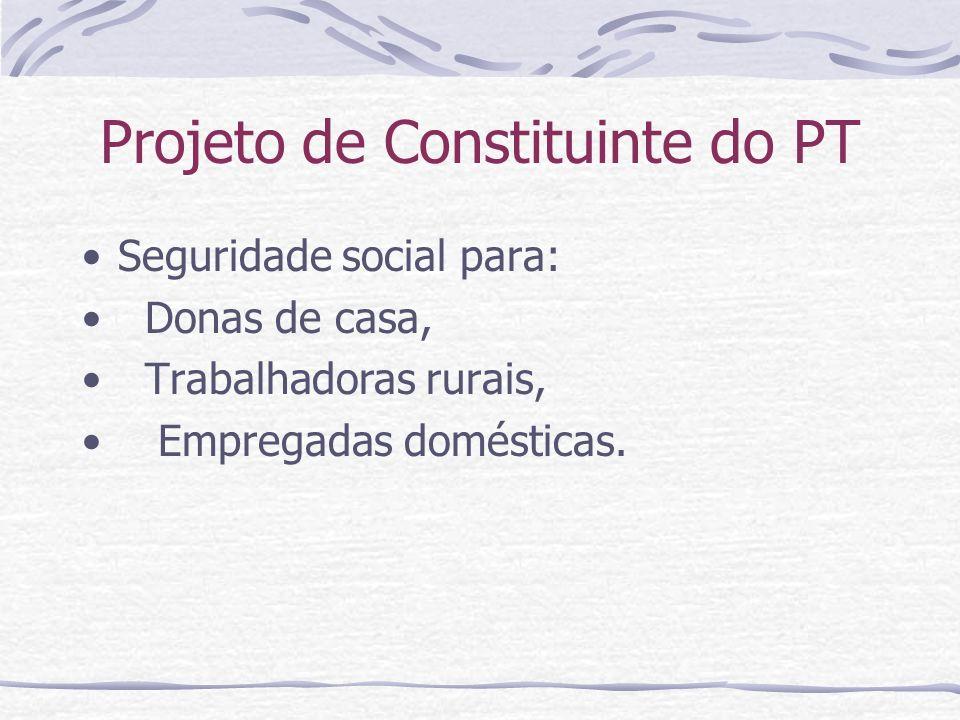 Projeto de Constituinte do PT
