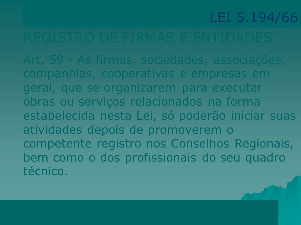 REGISTRO DE FIRMAS E ENTIDADES
